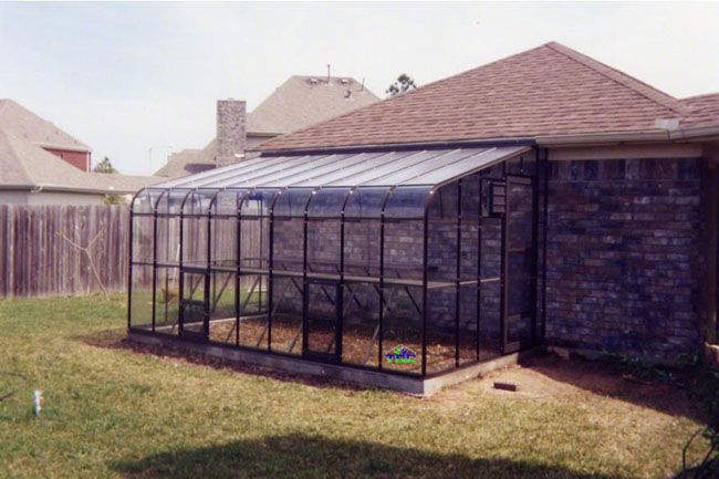 Greenhouses - The American Hobby Lean-to Greenhouse