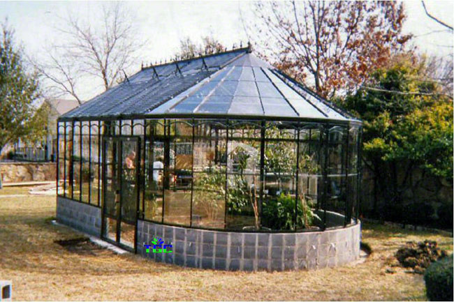 Greenhouse design showcase for American classic homes waco
