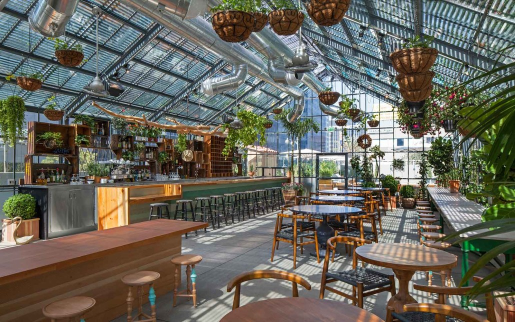 Greenhouse design showcase - The line hotel los angeles ...